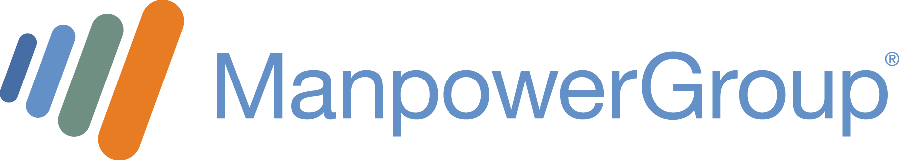 ManpowerGroup Web Horizontal Logo for Dark Background