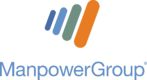 ManpowerGroup Web Stacked Logo for Dark Background